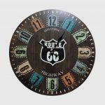 นาฬิกาติดผนัง Vintage รุ่น Route 66 Historic
