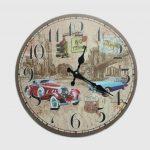 นาฬิกาติดผนัง Vintage รุ่นรถโบราณ