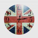 นาฬิกาแขวน รุ่นธงชาติอังกฤษ Keep calm