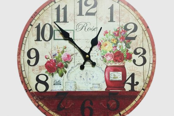 rose wallclock