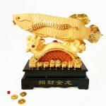 ปลามังกรทองรับทรัพย์