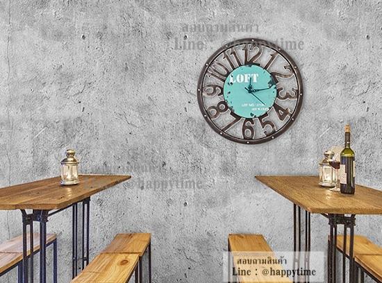 นาฬิกาติดผนัง Lazada Loft