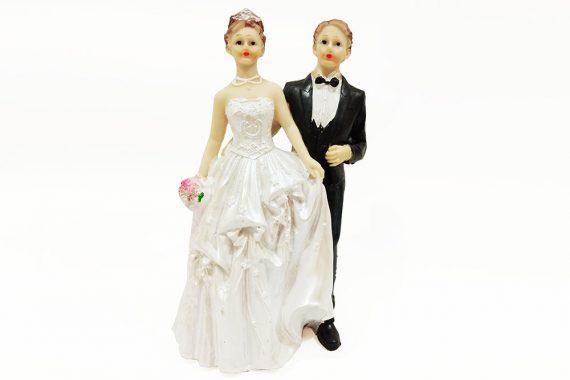ตุ๊กตาเรซิ่นคู่แต่งงาน