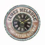 นาฬิกาติดผนังวินเทจ รุ่น James Melrose