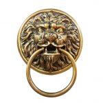 มือจับประตูทองเหลือง – ราชสีห์