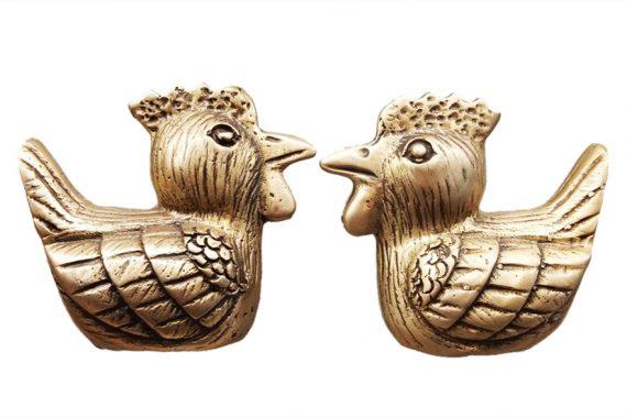 มือจับ-ไก่คู่