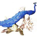 นกยูงสีน้ำเงิน