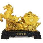 ม้าลากเกวียนทองคำ