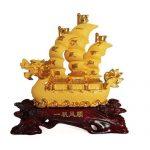 เรือสำเภาจีนหัวมังกร ไซส์ 12 นิ้ว 16 นิ้ว และ 24 นิ้ว